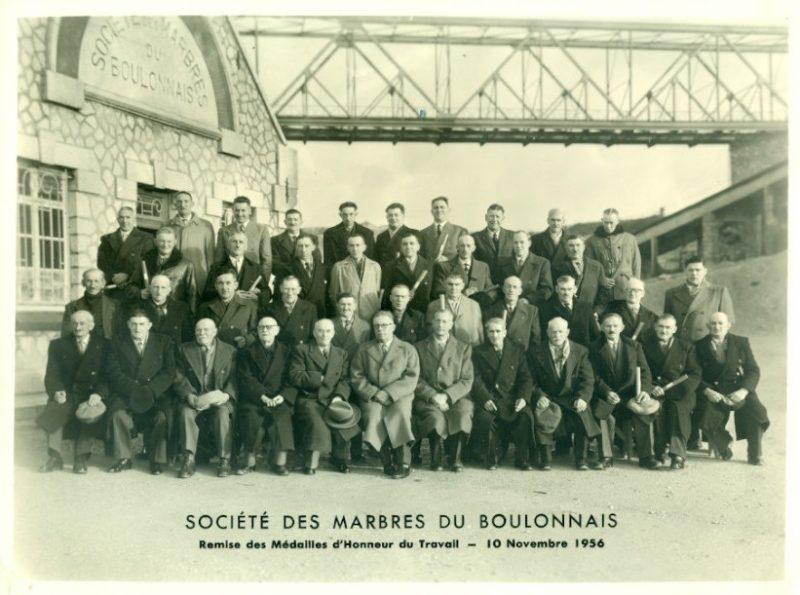 Marbres du Boulonnais, fête des 4 couronnés, groupe CB, Carrières du Boulonnais
