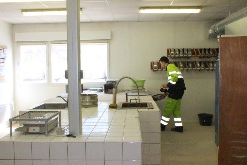 laboratoire, granulats, qualité