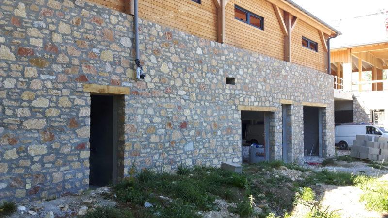 champdor, granulats, pierre de parement