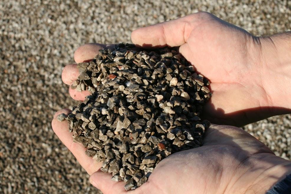 gravillon calcaire, gravillon, granulats
