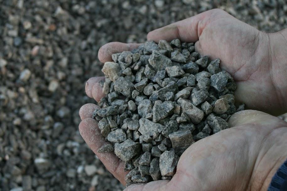 gravillon, gravillon calcaire sec, granulats