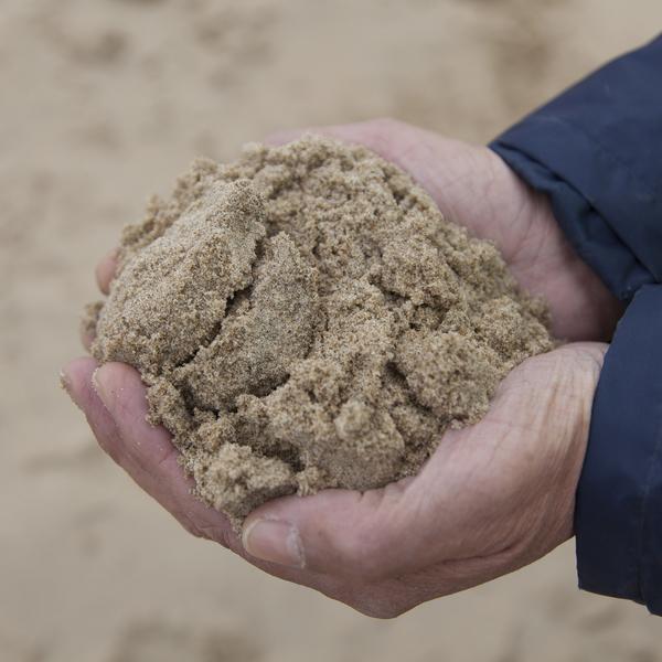 sable marin, sable pour béton